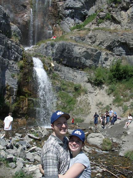 Us at Stewart Falls 7-14-07